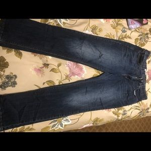 Levi's perfect waist 525 straight leg jeans